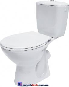 Компакт Cersanit President P010 c сиденьем из полипропилена