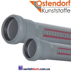 Труба канализационная OSTENDORF 50x150