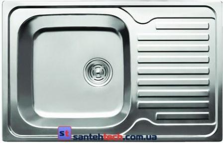 Мойка кухонная врезная 780x500x180 Cristal KATANA Plus UA7203ZS Satin