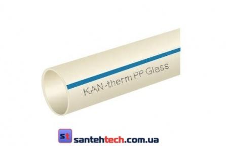 Труба PPR Stabi Glass 63х8,6 PN16 KAN-therm