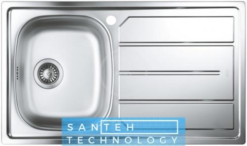 Мойка кухонная прямоугольная Grohe EX Sink 31552SD0 K200 860x500x160 Satin