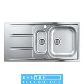 Мойка кухонная Grohe EX Sink 31567SD0 K400 с доп. чашей