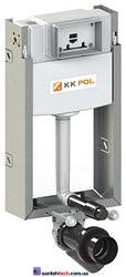 Инсталляция KK-POL монтажный комплект для напольного унитаза в туалет PROFESSIONAL, без клавиши.  ZSP/M429/0.1/K