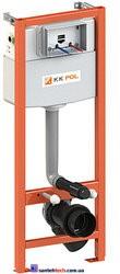 Инсталляция KK-POL монтажный комплект для подвесного унитаза в туалет STANDARD, без клавиши.  ZSP/M425/0/K