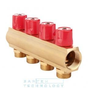 Коллекторная балка со встроенными вентильными клапанами 1