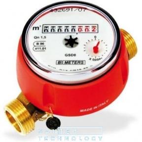 Счетчик горячей воды B Meters 110 мм